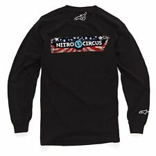 Alpinestars Sportin Wood Long Sleeve Tee (M) Black