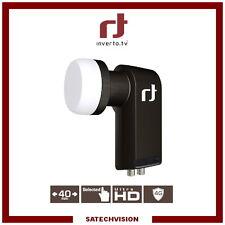 LNB Twin Inverto Black Premium 0.2 dB Gain 65 dB Tête 2 Sorties Full HD 3D UHD