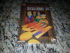 NEW - Backgammon [CD-ROM] [video game]