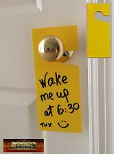 M00360 MOREZMORE 1 Blank Write Your Own Message Sign Door Do Not Disturb A60