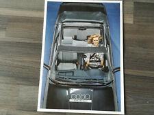 Prospekt Broschüre Baur Topcabriolet BMW 3er E30