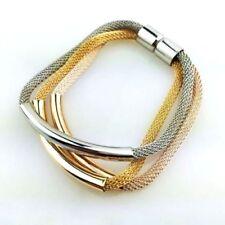 Markenlose gefädelte Modeschmuck-Armbänder Magnetverschluss