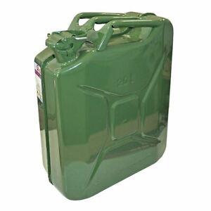 Autocare STCANJC Green Jerry Can Metal 20 Litre