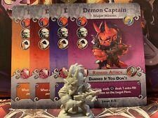 DEMON CAPTAIN - Arcadia Quest Inferno Kickstarter Exclusive Major Minion