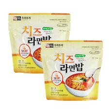 Korean Food Cheese Noodle & Rice Ramenbap Korean MRE Hot Water Need Only * 2EA