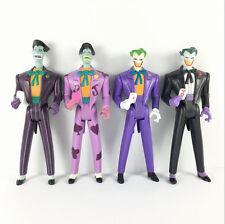 "Lot 4X New Real DC Comics The JOKER Batman Animated Series 5""Figure Kid Toy Gift"