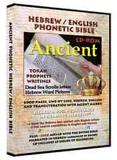 Ancient Hebrew Phonetic Bible - over 4000 pages