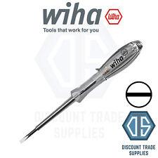 Wiha Electricians Voltage Tester 120 250v Ac 30mm Slotted Vde Mains 35378
