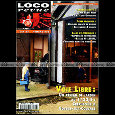 LOCO REVUE N°593 LONGRINE 242 AT PLM COUVERT FASU GARE SAINT VALERY SMN MONGY