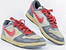 Nike BIG NIKE Spike Lee Low 355152-061 Mens Size 13 Black Gray Red Shoe  P13