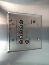 Audio Authority 9878 Stainless Steel Wallplate Zone Receiver