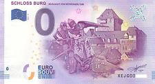 0 Null Euro Schein Schloss Burg 2017-4 Zéro 0 € Billet Touristique (51)