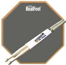 "Evans RF-6GM 6"" + KEEPDRUM Sticks  Practice Pad Übungspad Gummi"