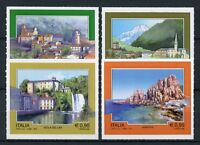 Italy 2017 MNH Tourism Arbatax Introd 4v S/A Set Landscapes Architecture Stamps