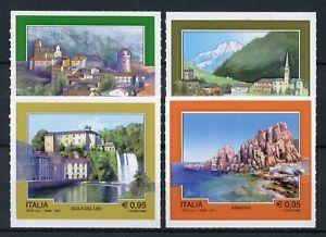 Italy 2017 MNH Tourism Arbatax Introd 4v S/A Set Landscapes Architecture Stamps