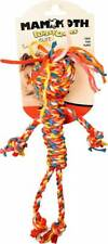 Mammoth Cloth Rope Man Dog Toy, Small (Assorted Colors)