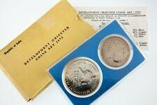 1975 Republic of India Development Oriented 50 & 10 Rupee Set w/ Box & CoA