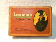 Lesmona Cigaretten alte Blechdose um 1910 Bremen