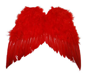 Adult Child Mini Cupid Angel Devil Feather Wings Valentines Cosplay Accessory