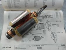 INDOTTO ROTORE ALTERNATORE FIAT 682 N2 T2 - 690 N1 T1 - 693 N 4096171 4085190