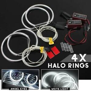 4x LED Angel Eyes Xenon Standlicht Ringe CCFL Scheinwerfer für BMW 3 7er E46 E39