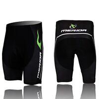 2019 Merida Men's Cycling Shorts MTB Bike Bicycle Short Pants Tights Green Fire