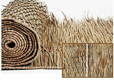 4'x 8' Thatch Panel Mexican Palm Tiki Bar Hut Commercial Grade