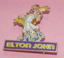 Original Badge Pin Elton John Rock Pop Captain Fantastic Music Button Old Band