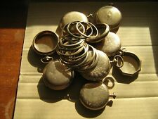Gold Filled pocket watches scrap,recovery,438 grams,20y & 25y,16s 12s and 18s