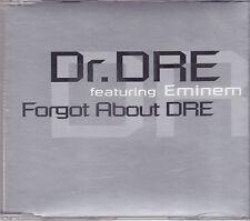 Dr Dre feat Eminem-Forgot About DRE Promo cd single