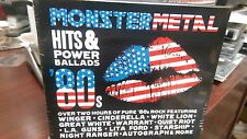 Monster Metal Hits & Power Ballads 80's CD 2 Disc Set Sunset Strip Rock n Roll