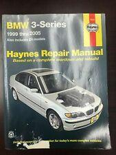 Haynes BMW 3-Series 1999-2005 (includes Z4 models) Repair Manual