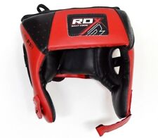 MMA Head Gear RDX Sports Giant Inside Protective Pad JHRF1R Adjustable Red Black
