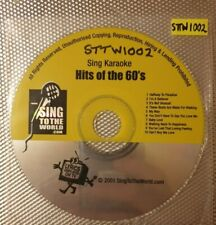 Sing To The World - Hits of the 60s - STTW1002 - Karaoke CDG CD CD+G
