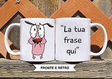 Tazza ceramica LEONE CANE FIFONE 2 FRASE PERSONALIZZATA  ceramic mug
