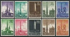 Vatican C35-C44,hinged.Michel 317-326. Obelisks,Rome,1959.St John,St Mary,