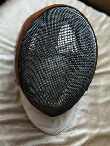 Classic Santelli fencing mask and men's jacket