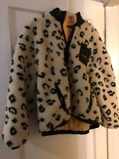 Obey Cheetah Leopard Pullover - Women's Large