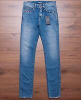 SAINT LAURENT PARIS 890$ Low Waisted Skinny Jeans In Vintage Blue Denim