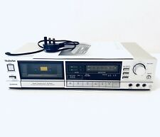 Technics RS-B305 Stereo Cassette Deck And Manual Silver