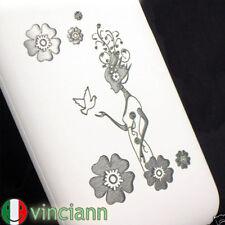 Custodia back cover FATA DEI FIORI x iPhone 3G S bianca