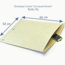 10 Enveloppes à bulles rigides EXTRA taille XL très grand format 490x660mm