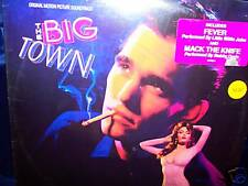 THE BIG TOWN 1987 SOUNDTRACK VINYL LP DOO WOP MATT DILLION SEALED!
