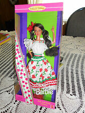 DOLLS OF THE WORLD( MEXICAN ) BARBIE 1995 SPECIAL EDITION FOR THE ADULT COLLECT