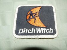 Vintage Ditch Witch Trench Digging Construction Square Patch
