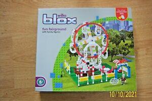 WILKO BLOX FUN FAIRGROUND PLASTIC BUILDING BLOCKS FITS OTHER KITS AGE 6+ BNIB