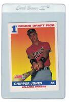 CHIPPER JONES 1991 Score ROOKIE Card #671 Atlanta BRAVES RC HOF Short Stop