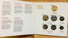 Canada 150 - 2017 Coins On Collector Card with Colored Coins - No Tax