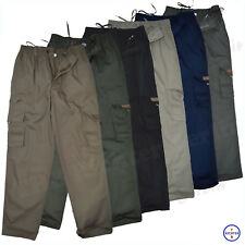 Herren Cargohose Freizeithose Schlupfhose Cargo Lange Hose Pants Arbeitshose Men