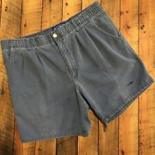 a988e6f7fe Vintage OP Cotton Shorts Men's Medium Ocean Pacific Short Inseam Steel Blue  OP